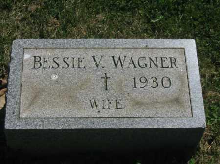 WAGNER, BESSIE V. - Baltimore County, Maryland | BESSIE V. WAGNER - Maryland Gravestone Photos