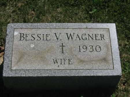 WAGNER, BESSIE V. - Baltimore County, Maryland | BESSIE V. WAGNER - Maryland Gravestone Photos