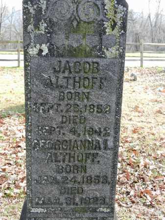 ALTHOFF, GEORGIANNA I - Baltimore County, Maryland | GEORGIANNA I ALTHOFF - Maryland Gravestone Photos