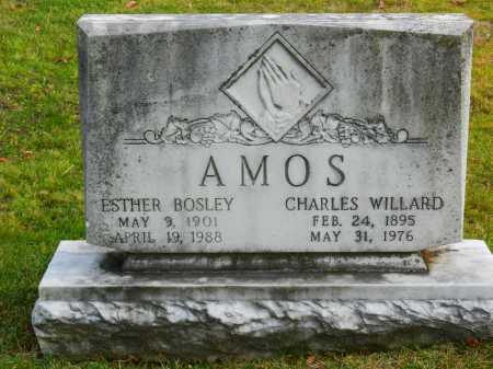 AMOS, ESTHER - Baltimore County, Maryland | ESTHER AMOS - Maryland Gravestone Photos