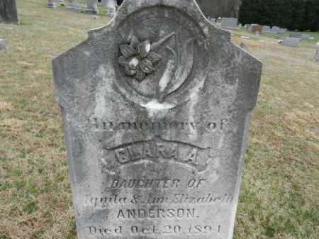 ANDERSON, CLARA A. - Baltimore County, Maryland   CLARA A. ANDERSON - Maryland Gravestone Photos