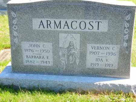 ARMACOST, JOHN C. - Baltimore County, Maryland | JOHN C. ARMACOST - Maryland Gravestone Photos