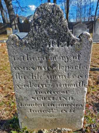 BAIN, JAMES - Baltimore County, Maryland   JAMES BAIN - Maryland Gravestone Photos