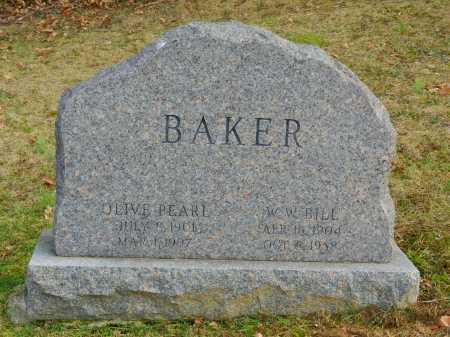 BAKER, OLIVE PEARL - Baltimore County, Maryland | OLIVE PEARL BAKER - Maryland Gravestone Photos