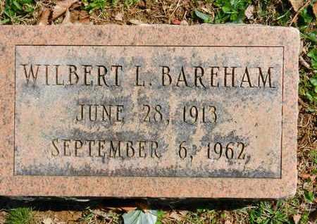BAREHAM, WILBERT L. - Baltimore County, Maryland | WILBERT L. BAREHAM - Maryland Gravestone Photos