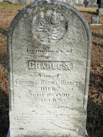 BARRETT, CHARLES - Baltimore County, Maryland | CHARLES BARRETT - Maryland Gravestone Photos