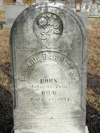 BARRETT JR, EDWARD - Baltimore County, Maryland   EDWARD BARRETT JR - Maryland Gravestone Photos