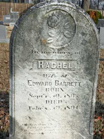 BARRETT, RACHEL - Baltimore County, Maryland | RACHEL BARRETT - Maryland Gravestone Photos