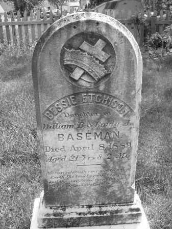 BASEMAN, BESSIE ETCHISON - Baltimore County, Maryland | BESSIE ETCHISON BASEMAN - Maryland Gravestone Photos