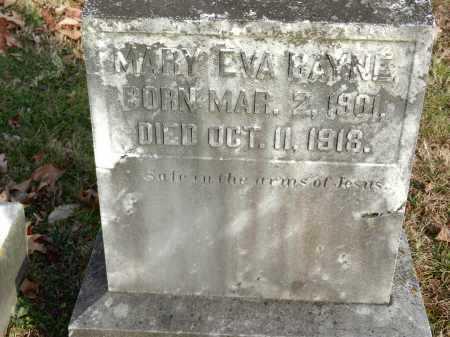 BAYNE, MARY EVA - Baltimore County, Maryland | MARY EVA BAYNE - Maryland Gravestone Photos