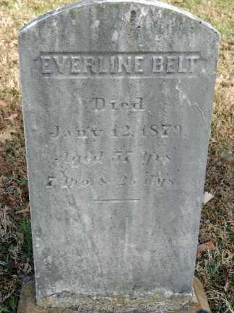 BELT, EVERLINE - Baltimore County, Maryland | EVERLINE BELT - Maryland Gravestone Photos