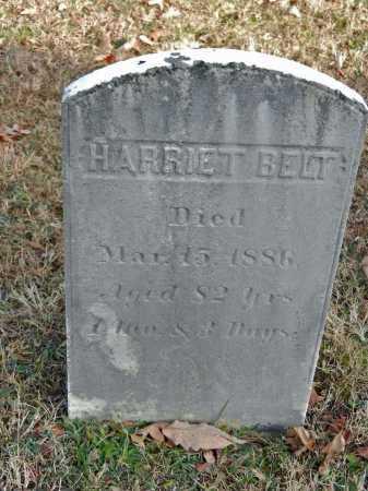 BELT, HARRIET - Baltimore County, Maryland | HARRIET BELT - Maryland Gravestone Photos