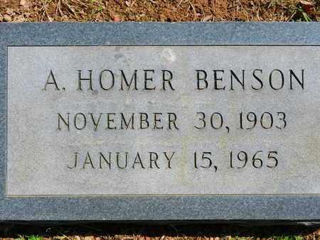BENSON, A HOMER - Baltimore County, Maryland | A HOMER BENSON - Maryland Gravestone Photos