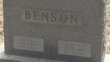 BENSON, GEORGE - Baltimore County, Maryland   GEORGE BENSON - Maryland Gravestone Photos