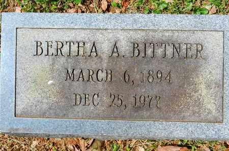 BITTNER, BERTHA A. - Baltimore County, Maryland | BERTHA A. BITTNER - Maryland Gravestone Photos