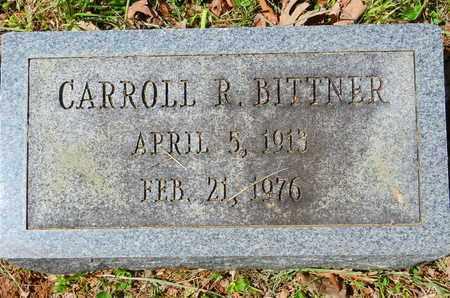 BITTNER, CARROLL R. - Baltimore County, Maryland   CARROLL R. BITTNER - Maryland Gravestone Photos
