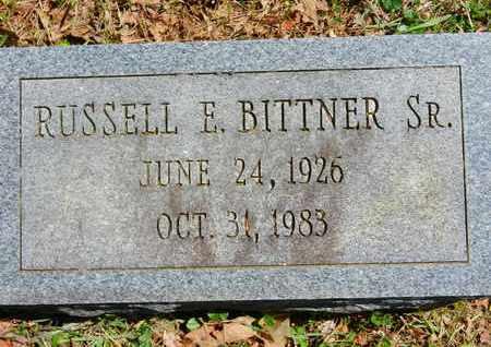 BITTNER SR., RUSSELL E. - Baltimore County, Maryland | RUSSELL E. BITTNER SR. - Maryland Gravestone Photos