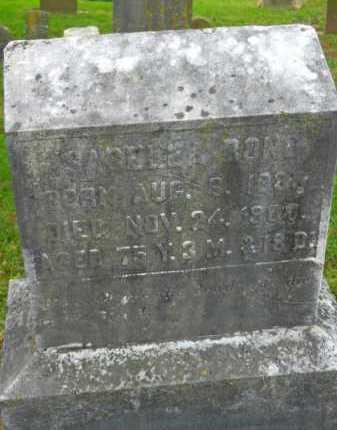 BOND, ISABELLA - Baltimore County, Maryland   ISABELLA BOND - Maryland Gravestone Photos
