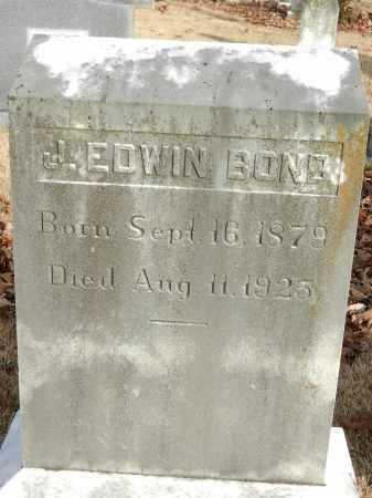 BOND, J EDWIN - Baltimore County, Maryland | J EDWIN BOND - Maryland Gravestone Photos