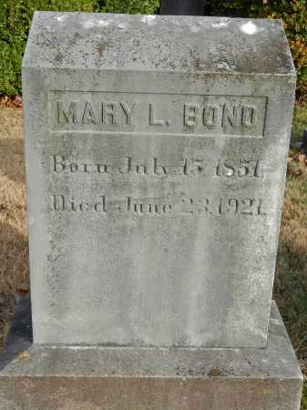 BOND, MARY LOUISA - Baltimore County, Maryland | MARY LOUISA BOND - Maryland Gravestone Photos