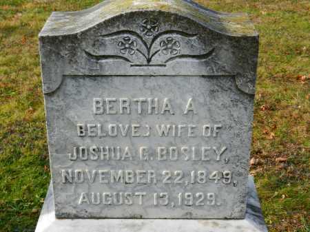 BOSLEY, BERTHA A. - Baltimore County, Maryland | BERTHA A. BOSLEY - Maryland Gravestone Photos
