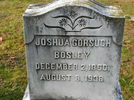 BOSLEY, JOSHUA GORSUCH - Baltimore County, Maryland | JOSHUA GORSUCH BOSLEY - Maryland Gravestone Photos
