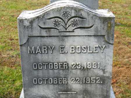 BOSLEY, MARY E. - Baltimore County, Maryland | MARY E. BOSLEY - Maryland Gravestone Photos