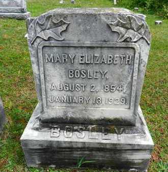 BOSLEY, MARY ELIZABETH - Baltimore County, Maryland | MARY ELIZABETH BOSLEY - Maryland Gravestone Photos
