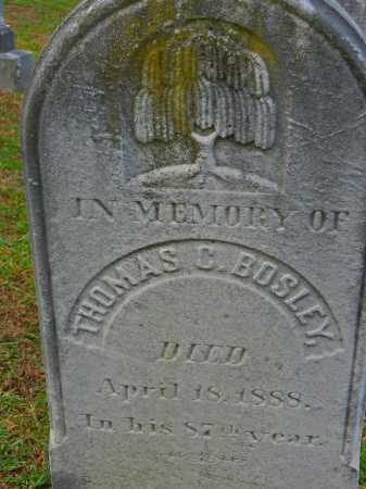 BOSLEY, THOMAS C. - Baltimore County, Maryland | THOMAS C. BOSLEY - Maryland Gravestone Photos