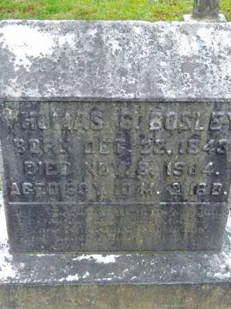 BOSLEY, THOMAS C. - Baltimore County, Maryland | THOMAS C. BOSLEY - Maryland Gravestone Photos