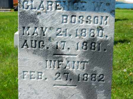 BOSSOM, (INFANT) - Baltimore County, Maryland | (INFANT) BOSSOM - Maryland Gravestone Photos