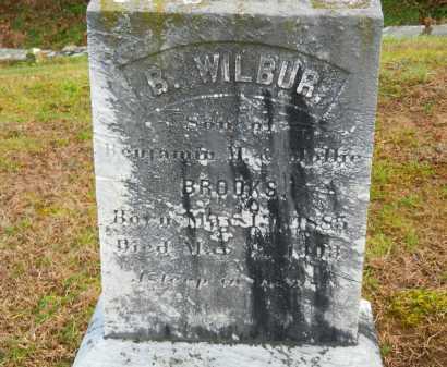 BROOKS, B. WILBUR - Baltimore County, Maryland   B. WILBUR BROOKS - Maryland Gravestone Photos