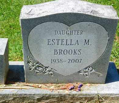 BROOKS, ESTELLA M. - Baltimore County, Maryland | ESTELLA M. BROOKS - Maryland Gravestone Photos