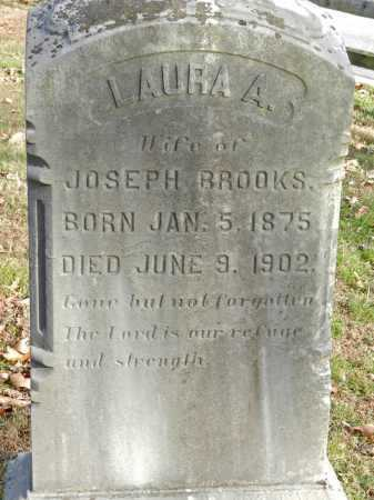 BROOKS, LAURA A - Baltimore County, Maryland | LAURA A BROOKS - Maryland Gravestone Photos