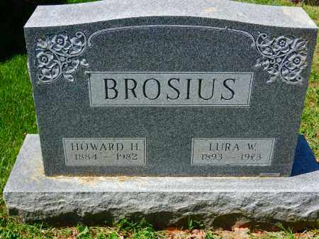 BROSIUS, HOWARD H. - Baltimore County, Maryland | HOWARD H. BROSIUS - Maryland Gravestone Photos