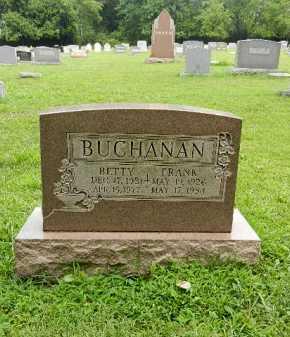 BUCHANAN, FRANK - Baltimore County, Maryland | FRANK BUCHANAN - Maryland Gravestone Photos