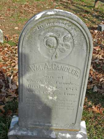 CANOLES, WILLIAM A - Baltimore County, Maryland | WILLIAM A CANOLES - Maryland Gravestone Photos