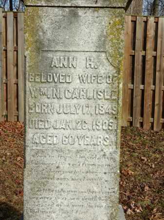 CARLISLE, ANN R - Baltimore County, Maryland | ANN R CARLISLE - Maryland Gravestone Photos