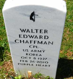 CHAFFMAN, WALTER EDWARD - Baltimore County, Maryland | WALTER EDWARD CHAFFMAN - Maryland Gravestone Photos