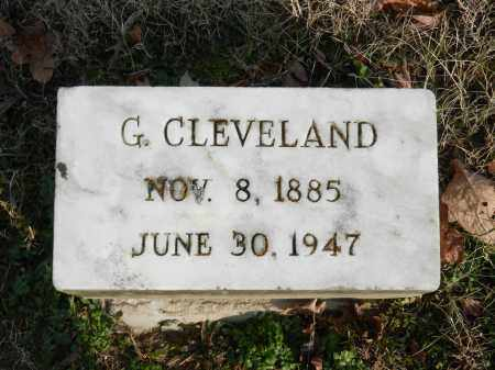 CLEVELAND, G - Baltimore County, Maryland | G CLEVELAND - Maryland Gravestone Photos