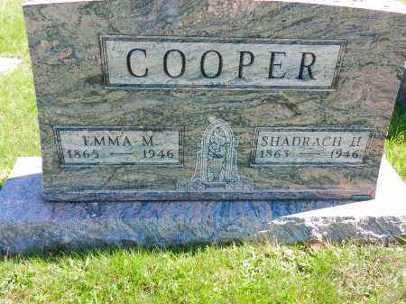 COOPER, SHADRACH H. - Baltimore County, Maryland | SHADRACH H. COOPER - Maryland Gravestone Photos