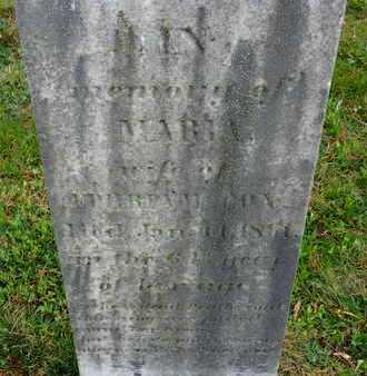 COX, MARIA - Baltimore County, Maryland | MARIA COX - Maryland Gravestone Photos