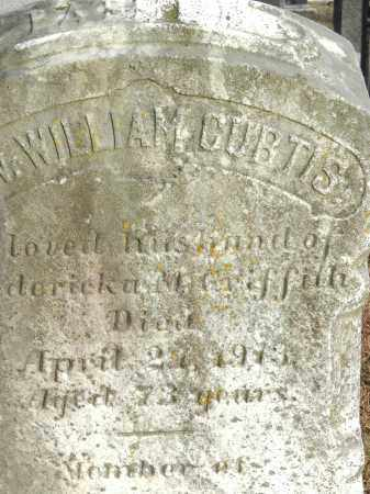 CURTIS, WILLIAM - Baltimore County, Maryland | WILLIAM CURTIS - Maryland Gravestone Photos