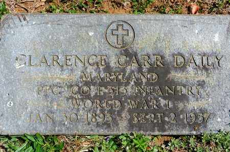 DAILEY, CLARENCE CARR - Baltimore County, Maryland | CLARENCE CARR DAILEY - Maryland Gravestone Photos