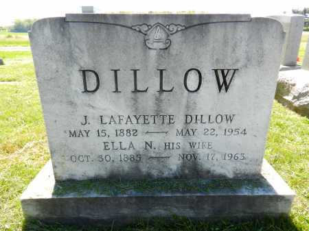 DILLOW, ELLA N. - Baltimore County, Maryland | ELLA N. DILLOW - Maryland Gravestone Photos