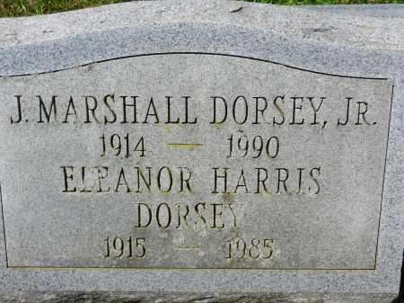 DORSEY, JR., J. MARSHALL - Baltimore County, Maryland | J. MARSHALL DORSEY, JR. - Maryland Gravestone Photos