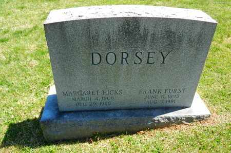 HICKS DORSEY, MARGARET - Baltimore County, Maryland | MARGARET HICKS DORSEY - Maryland Gravestone Photos