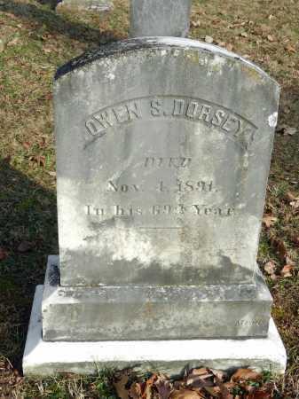 DORSEY, OWEN S - Baltimore County, Maryland   OWEN S DORSEY - Maryland Gravestone Photos