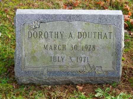 DOUTHAT, DOROTHY A. - Baltimore County, Maryland | DOROTHY A. DOUTHAT - Maryland Gravestone Photos