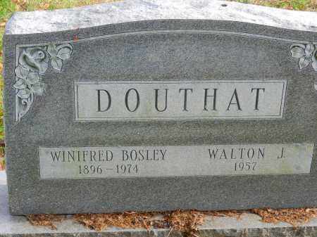 DOUTHAT, WINIFRED BOSLEY - Baltimore County, Maryland   WINIFRED BOSLEY DOUTHAT - Maryland Gravestone Photos